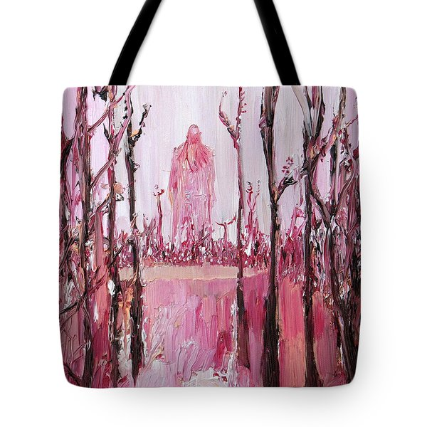 None Can Reach Heaven Who Has Not Passed Through Hell Tote Bag by Fabrizio Cassetta