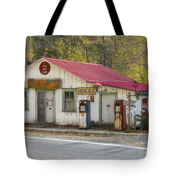 North Carolina Country Store And Gas Station Tote Bag by Bill Swindaman