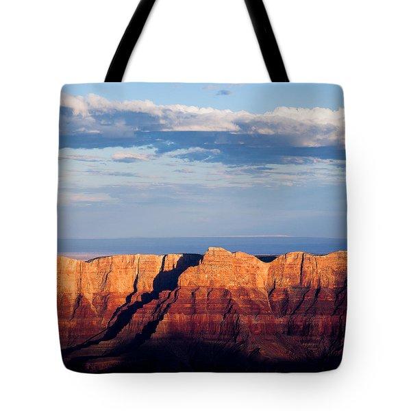 North Rim At Sunset Tote Bag by Dave Bowman
