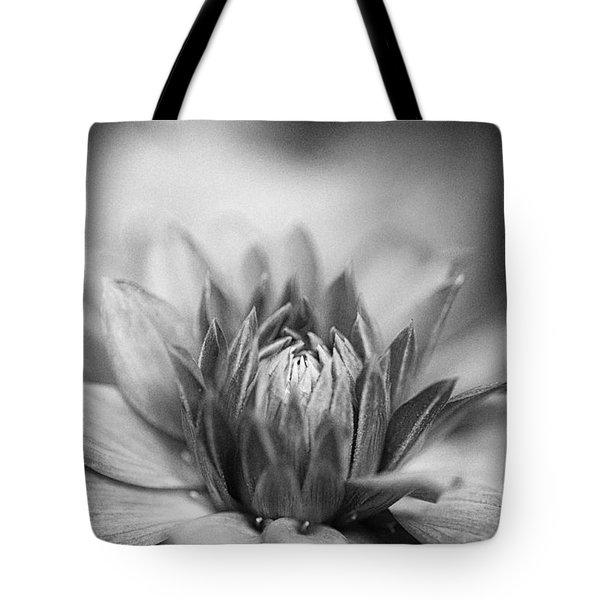 Nostalgic Dahlia Tote Bag by Venetta Archer