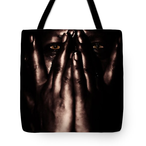 Not My Dark Soul.. Tote Bag by Stylianos Kleanthous