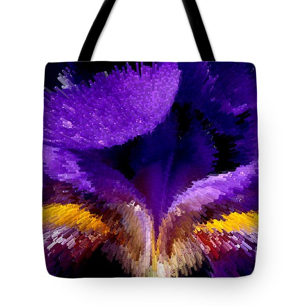 Not Your Average Iris Tote Bag by Paul W Faust -  Impressions of Light