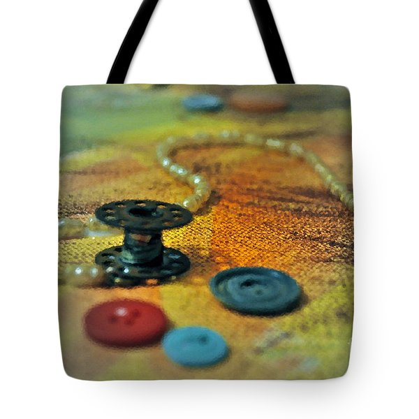 Notions Tote Bag by Gwyn Newcombe