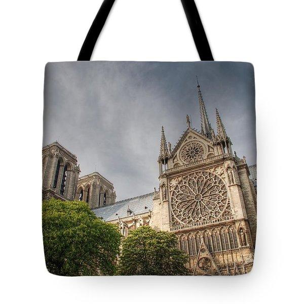 Notre Dame de Paris Tote Bag by Jennifer Lyon