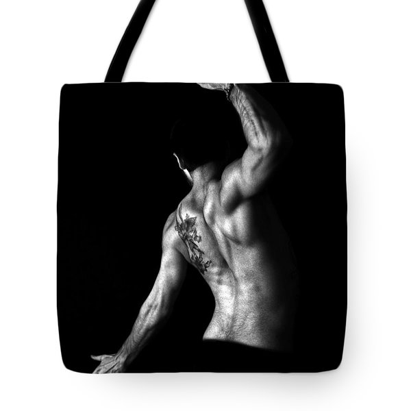 Nude Man Tote Bag by Sumit Mehndiratta