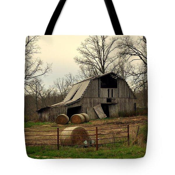 Oak Barn Tote Bag by Marty Koch