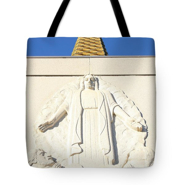Oakland California Temple . The Church Of Jesus Christ Of Latter-day Saints . 7d11350 Tote Bag by Wingsdomain Art and Photography