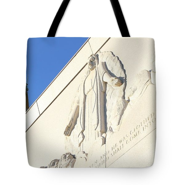 Oakland California Temple . The Church Of Jesus Christ Of Latter-day Saints . 7d11351 Tote Bag by Wingsdomain Art and Photography
