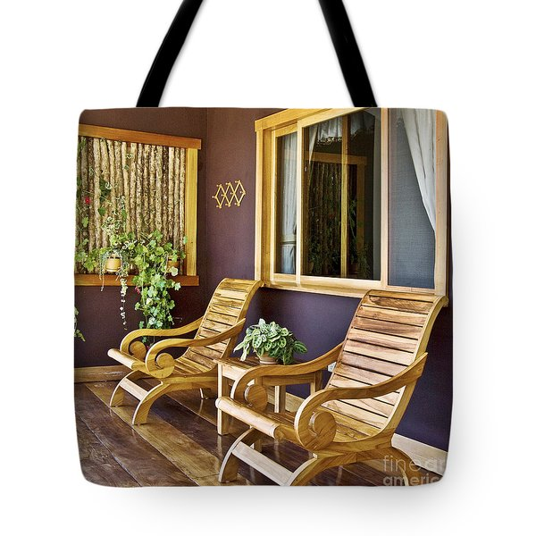 Oasis Of Calm Tote Bag by Heiko Koehrer-Wagner