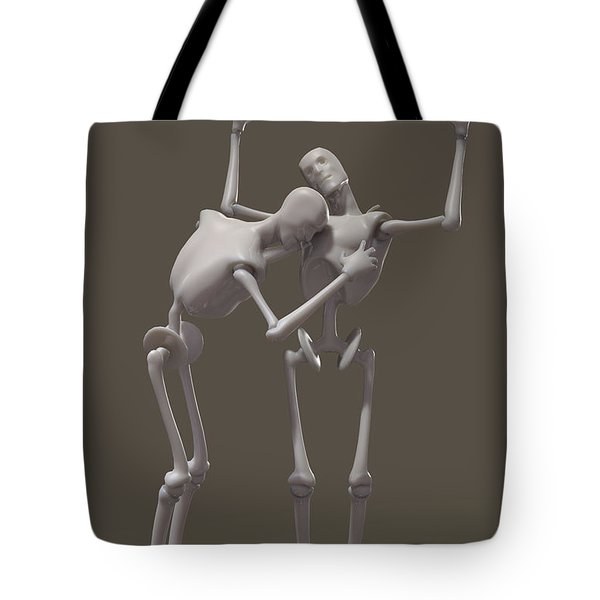 Obedience artificial Tote Bag by Joaquin Abella