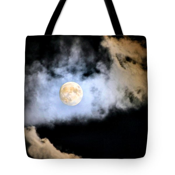 Obscured By Clouds Tote Bag by Kristin Elmquist