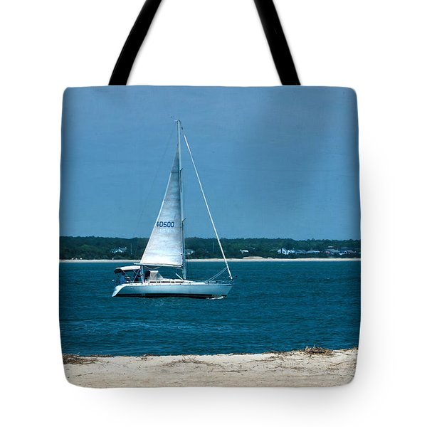 Ocean Bound Tote Bag by Sandi OReilly