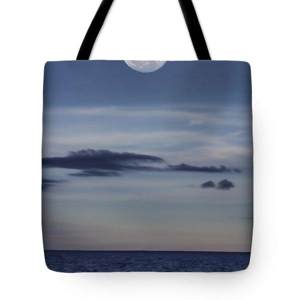 Ocean Moon Tote Bag by Douglas Barnard