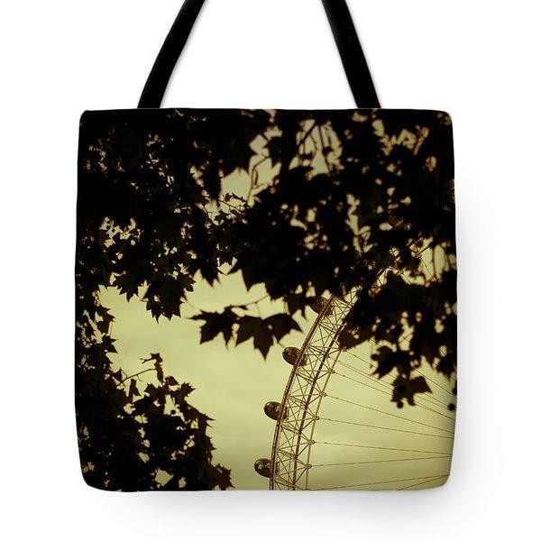 October Mist Tote Bag by Jan Bickerton