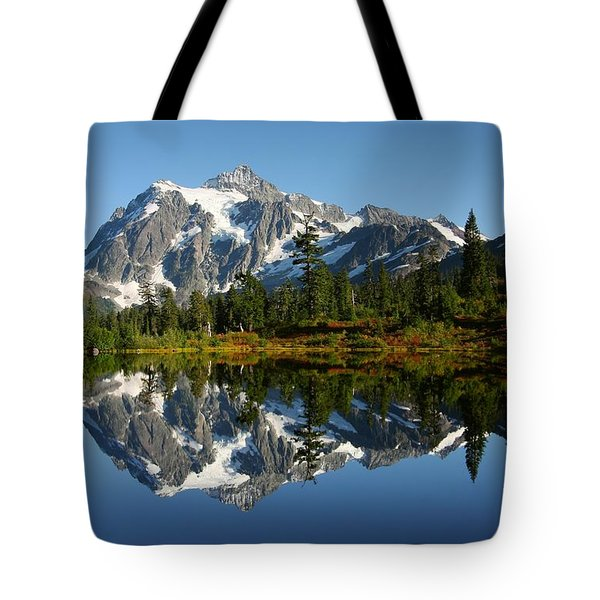 October Reflection Tote Bag by Winston Rockwell