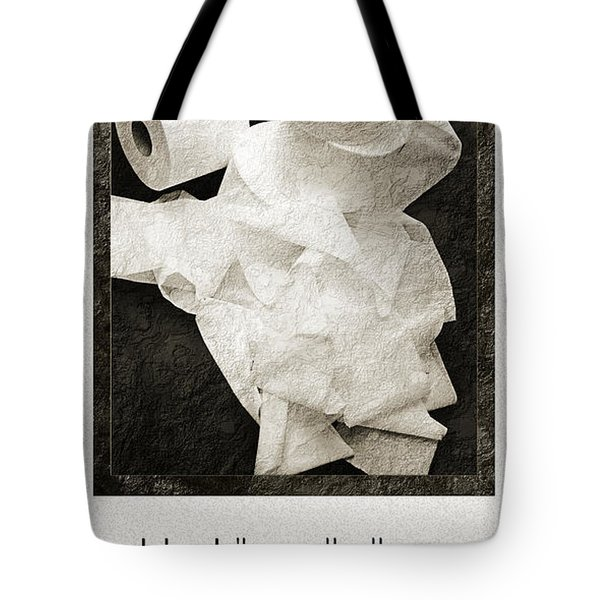Ode To The Spare Roll Tote Bag by Andee Design