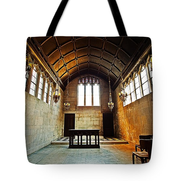 Of Stone And Wood Tote Bag by CJ Schmit