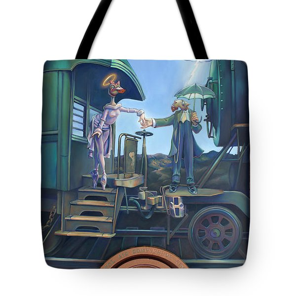 Of Thee I Sing The Body Electric Tote Bag by Patrick Anthony Pierson