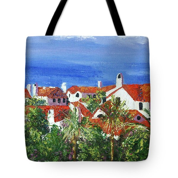 Off The Coast Tote Bag by Anthony Falbo