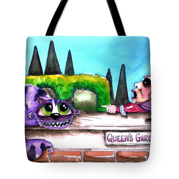 Off With His Head Tote Bag by Lucia Stewart
