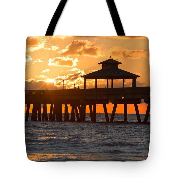 Oh Happy Day Tote Bag by Debra and Dave Vanderlaan