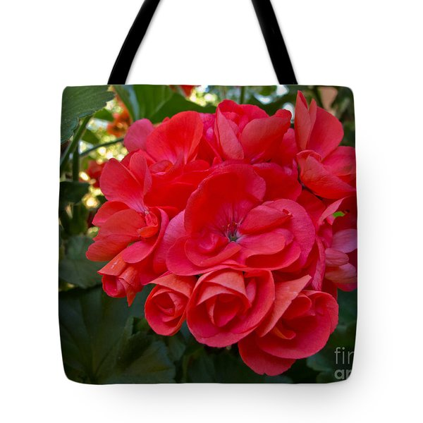 Oh My Red Tote Bag by Arlene Carmel