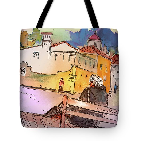 Old And Lonely In Portugal 07 Tote Bag by Miki De Goodaboom