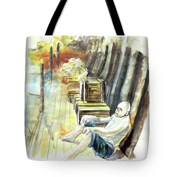 Old And Lonely In Portugal 08 Tote Bag by Miki De Goodaboom