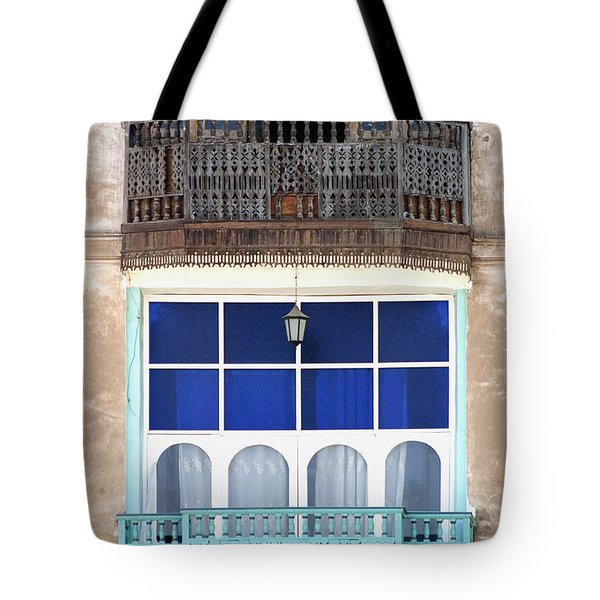 Old And New With Same View Tote Bag by Darcy Michaelchuk