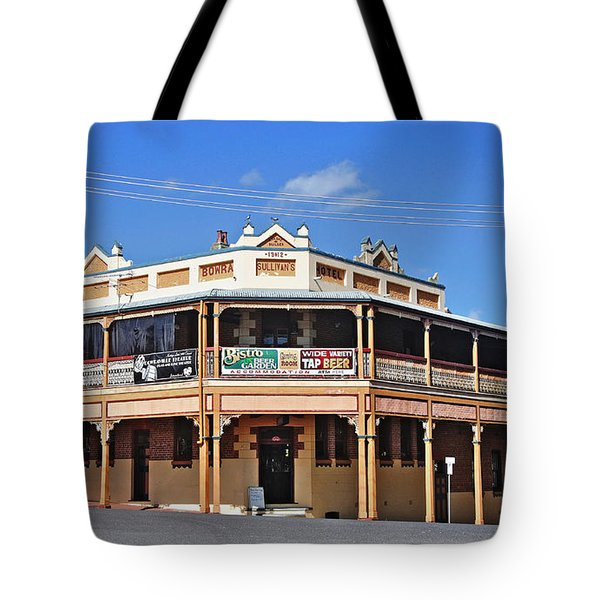 Old Aussie Pub Tote Bag by Kaye Menner