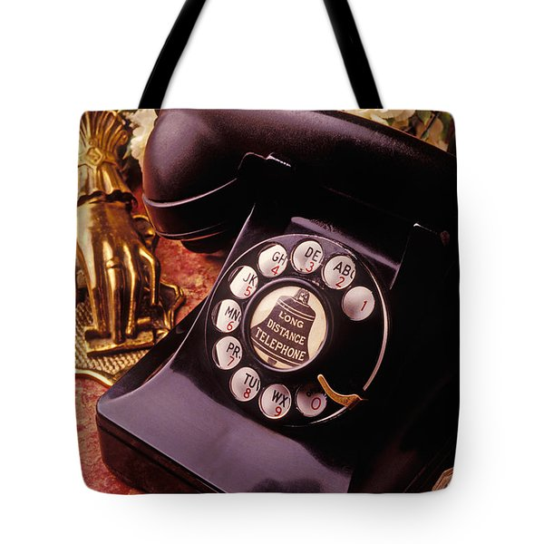Old Bell Telephone Tote Bag by Garry Gay