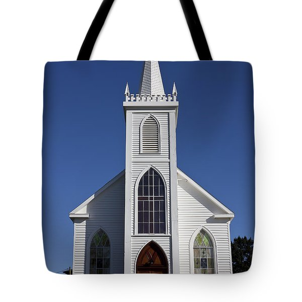 Old Bodega Church Tote Bag by Garry Gay