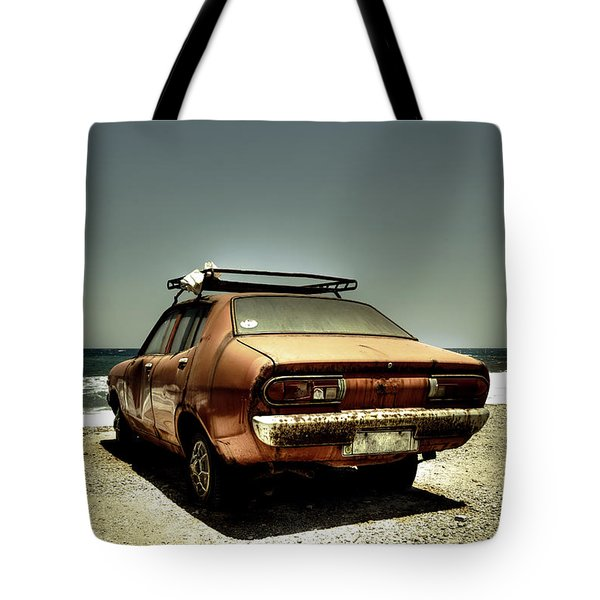 old car Tote Bag by Joana Kruse