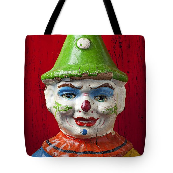 Old Cown Face Tote Bag by Garry Gay