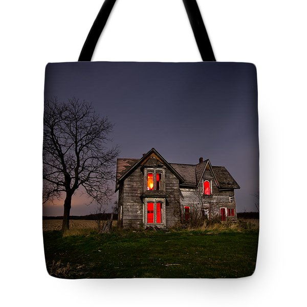 Old Farm House Tote Bag by Cale Best