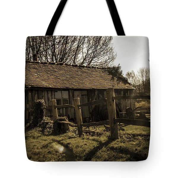 Old Fashioned Shed Tote Bag by Dawn OConnor