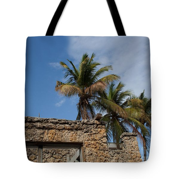 Old Florida Tote Bag by Barbara McMahon