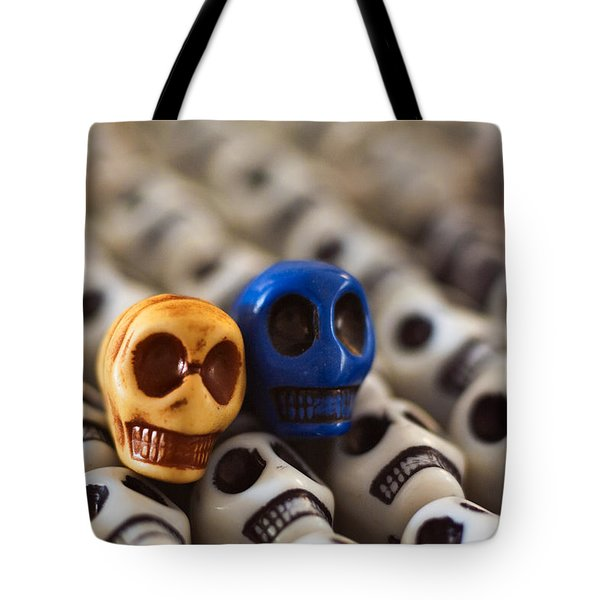 Old Gold And Blue Tote Bag by Mike Herdering