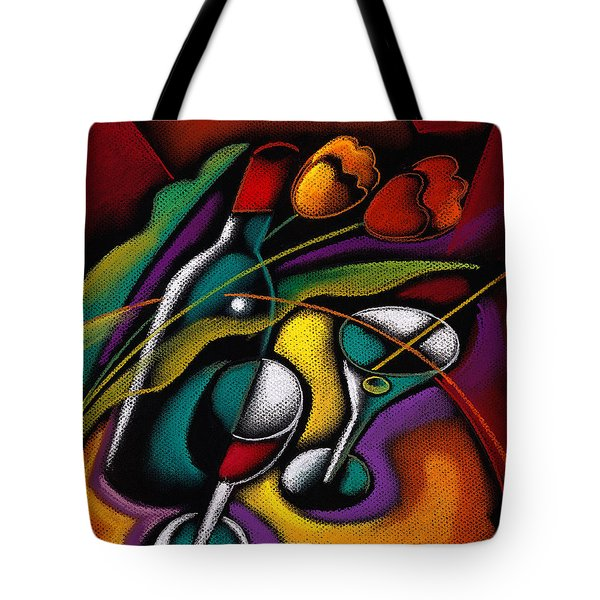Old Good Wine Tote Bag by Leon Zernitsky