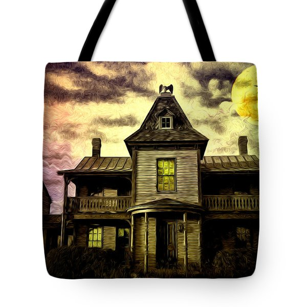 Old House At St Michael's Tote Bag by Bill Cannon