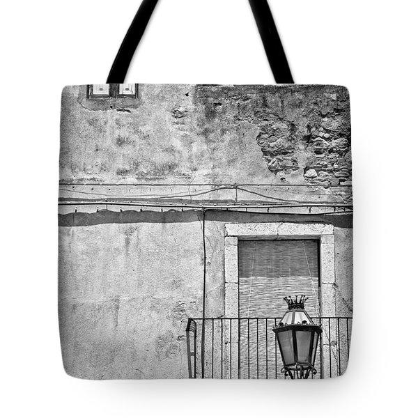 Old house in Taormina Sicily Tote Bag by Silvia Ganora