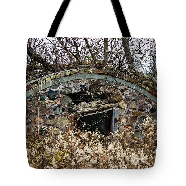 Old Ice House Tote Bag by Ms Judi