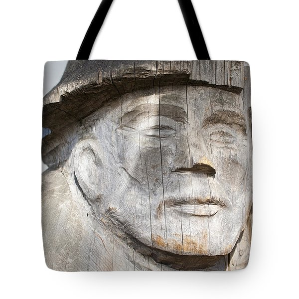 Old Man Of The Sea Tote Bag by Chris Dutton