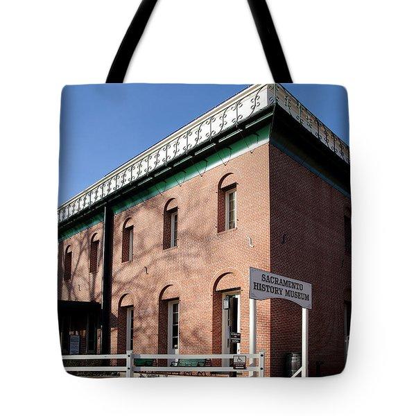 Old Sacramento California . Sacramento History Museum . 7d11700 Tote Bag by Wingsdomain Art and Photography