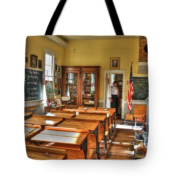 Old School II Tote Bag by Diego Re