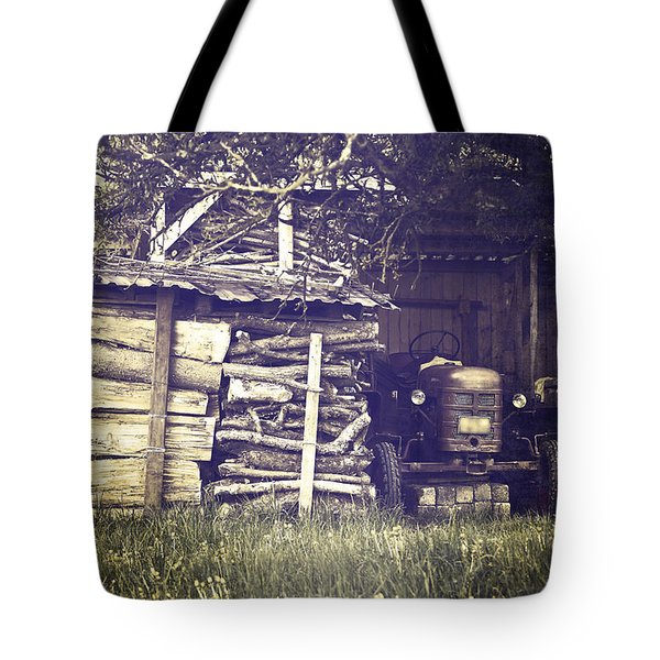 Old Shed Tote Bag by Joana Kruse
