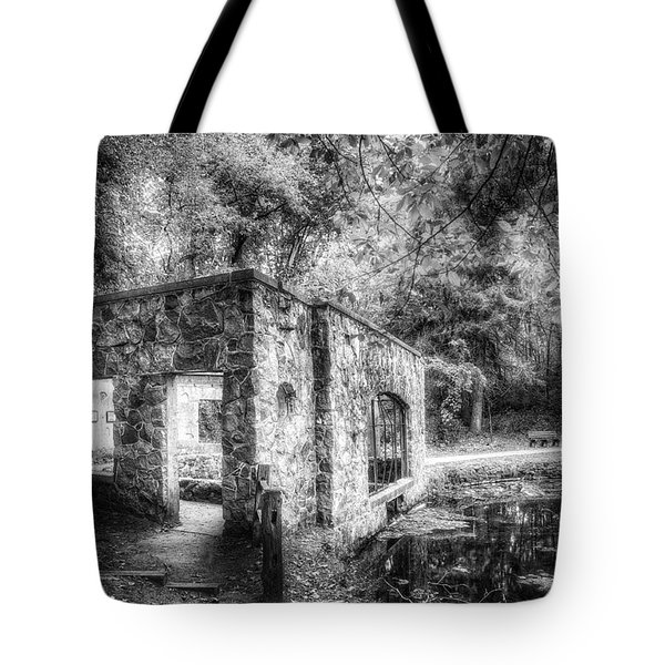 Old Spring House Tote Bag by Scott Norris