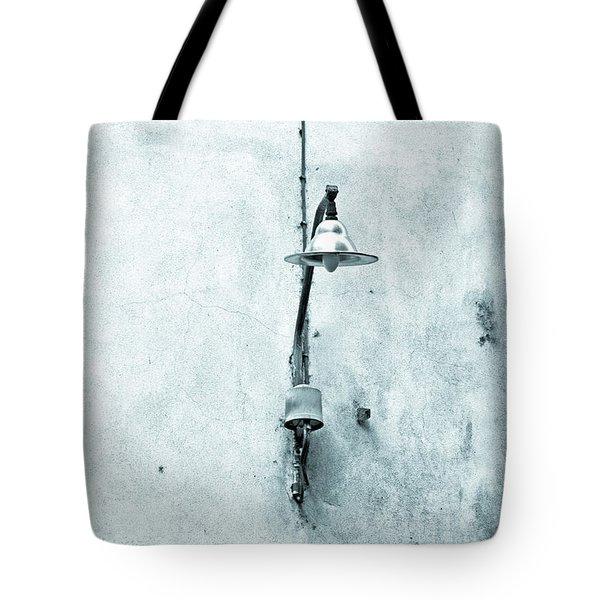 Old street lamp Tote Bag by Silvia Ganora