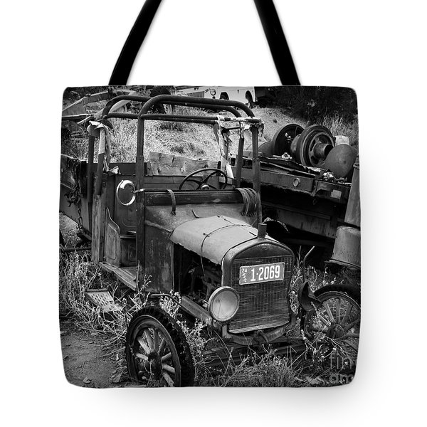 Old Times 2 Tote Bag by Perry Webster