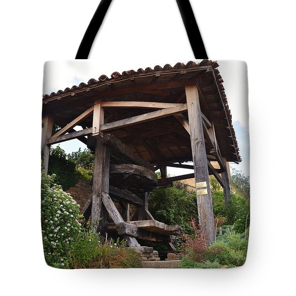 Old Wine press Tote Bag by Dany  Lison